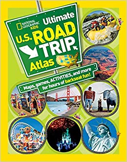 National Geographic Kids Ultimate US Road Trip Atlas Maps - Us map road trip