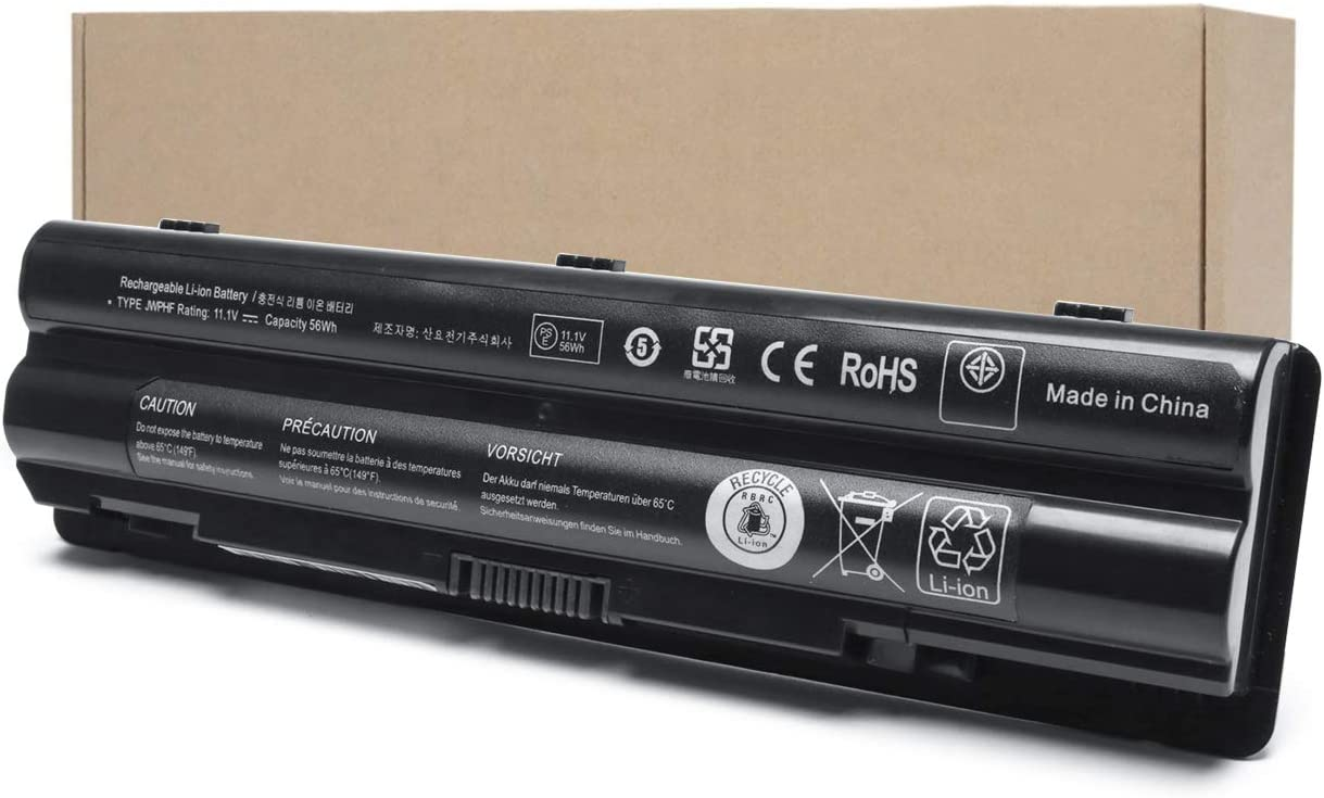 Ursulan 56Wh XPS 14 L401X Laptop Battery Compatible with Dell XPS 15 L501X L502X L521X XPS 17 L701X Fits JWPHF 312-1127 J70W7 P09E R795X WHXY3 312-1127 453-10186 11.1V 6-Cell