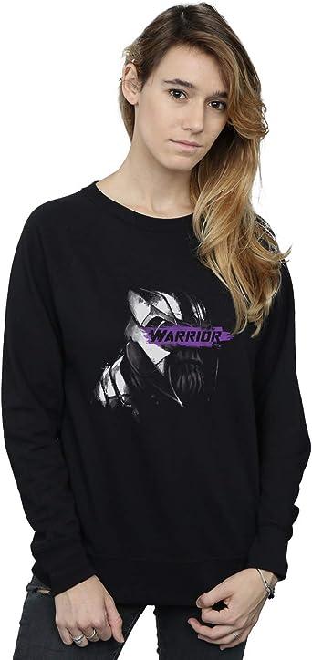 Marvel Mujer Avengers Endgame Thanos Warrior Camisa De Entrenamiento: Amazon.es: Ropa y accesorios