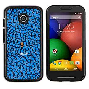 TECHCASE---Cubierta de la caja de protección para la piel dura ** Motorola Moto E ( 1st Generation ) ** --LINDO SER DIFERENTE