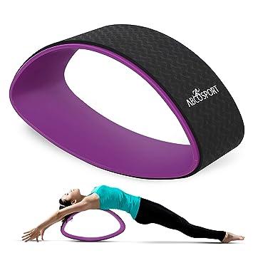 Rueda de Ejercicio de Yoga, Doble radiano, elíptica, para ...
