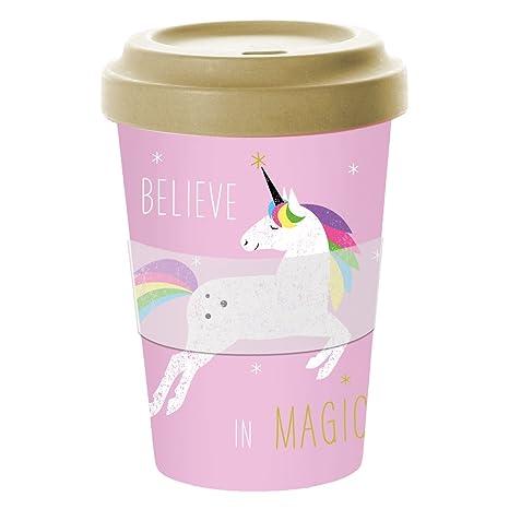 co Cups Travel Unicorn Mugcoffee Mug PinkAmazon uk Bamboo To Go eWIY2HED9