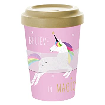 Ppd Pink Unicorn Bamboo Coffee To Go Becher Kaffeebecher