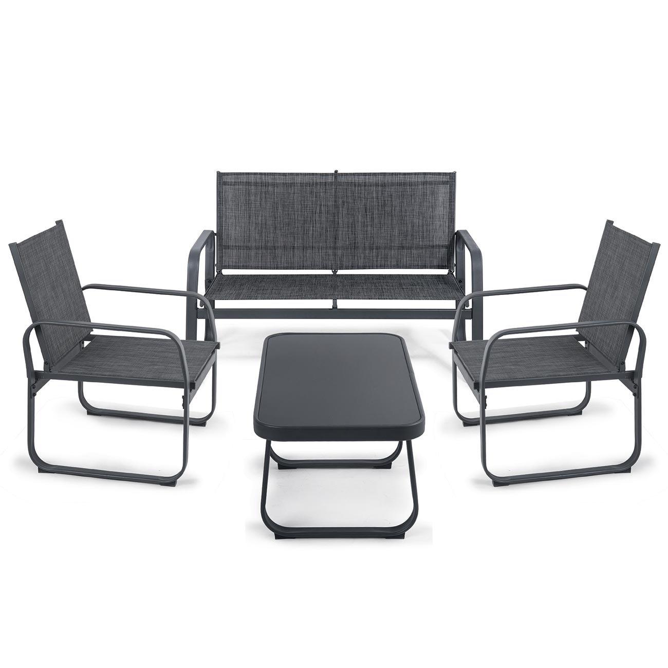 Gartenset Sitzgruppe Gartenmöbel Loungeset Sitzgarnitur ...