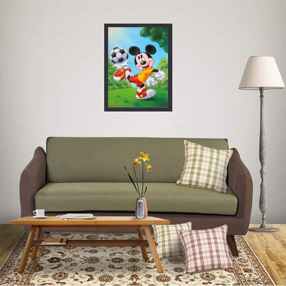 Camera Da Letto Yokjldh Motivo Topolino Poster Da Parete Ufficio Per Casa Dimensioni 40 6 X 30 5 Cm Decorazioni Per Interni Arte