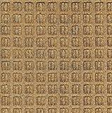 Andersen 210 Waterhog Classic Tile Polypropylene Fiber Entrance Indoor/Outdoor Floor Tile, Square Pattern, SBR Rubber Backing, 18'' Length x 18'' Width, 1/4'' Thick, Gold (Case of 12)