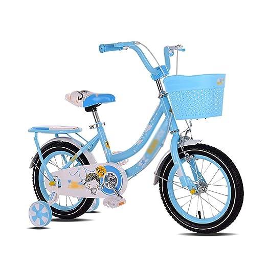 MDYMX Bicicleta para niños Bicicleta Infantil Bicicleta de ...