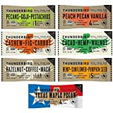 Thunderbird Bars - Paleo, Gluten Free Variety Pack (14 Bars) including the NEW Texas Maple Pecan!
