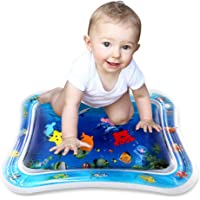 Simpeak Baby Toys Water Play Mat, Premium Kids Infant Tummy Time Water Mat, Early Development Play Activity Baby Toys 3 Months and Up (26X20inch)