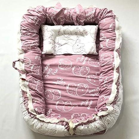 Wan-b Cuna Cama para bebé Cuna para Dormir Cuna Encaje ...