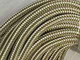 1/2'' X 100' Gold Double Braid Nylon Rope