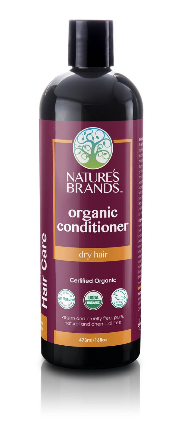 Herbal Choice Mari Organic Conditioner, Dry Hair; 16floz