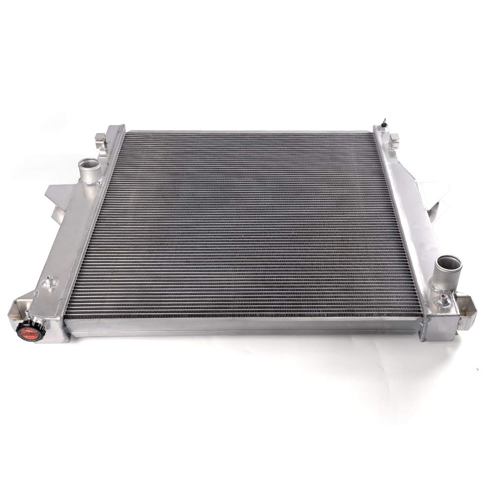 Racing Aluminum Radiator For 03-11 DODGE RAM 2500 3500 5.9L 6.7L CUMMINS