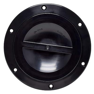 Valterra A10-2171BKVP Access Hatch (5″ , Black),1 Pack: Automotive
