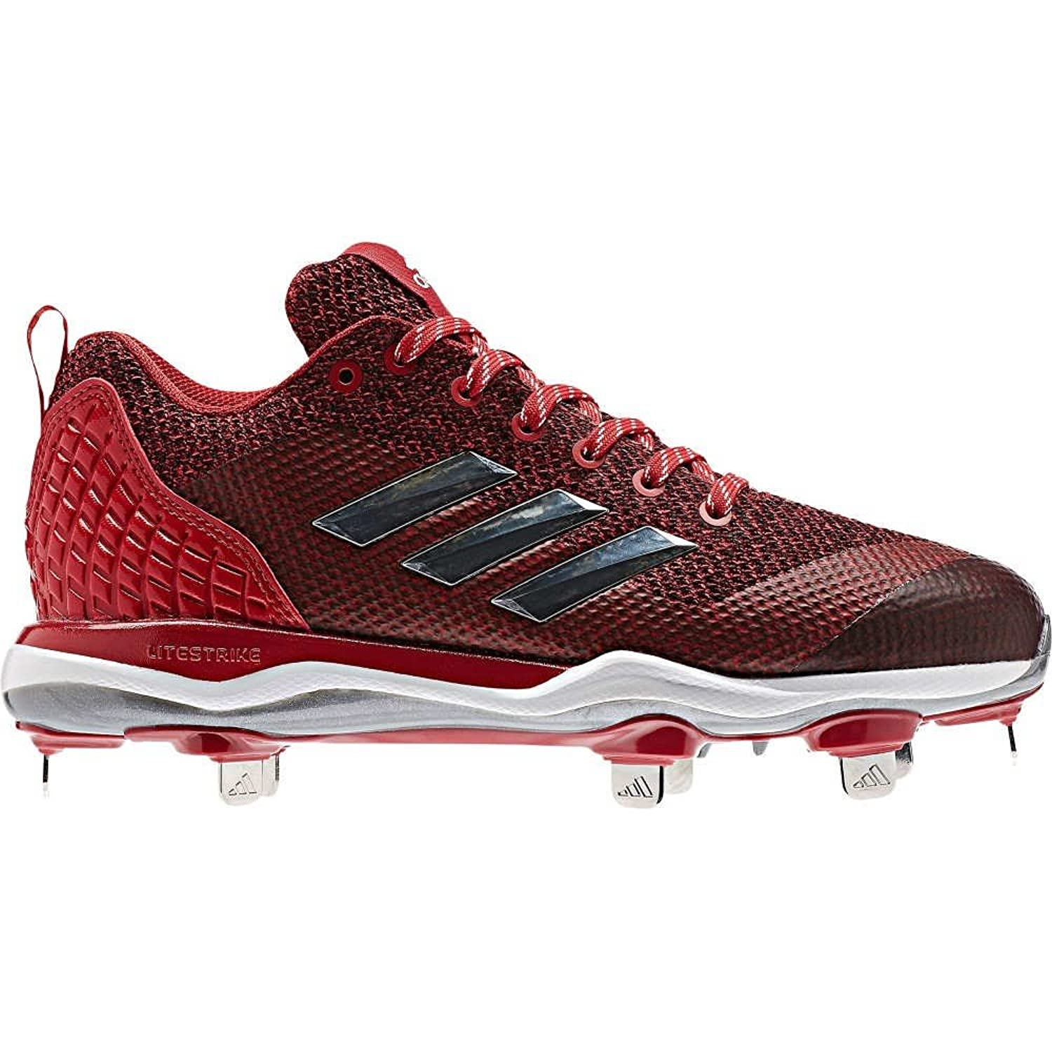 (アディダス) adidas レディース 野球 シューズ靴 adidas Poweralley 5 Metal Fast-Pitch Softball Cleats [並行輸入品] B0785L82B17.5-Medium