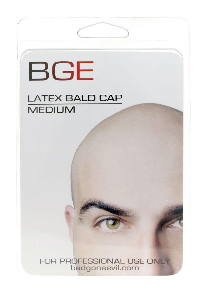 BGE Medium Latex Flesh Tone Bald Cap