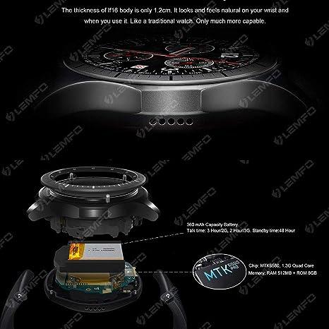 CQL Reloj Inteligente, 3G/WiFi Paso a Paso de posicionamiento de ...