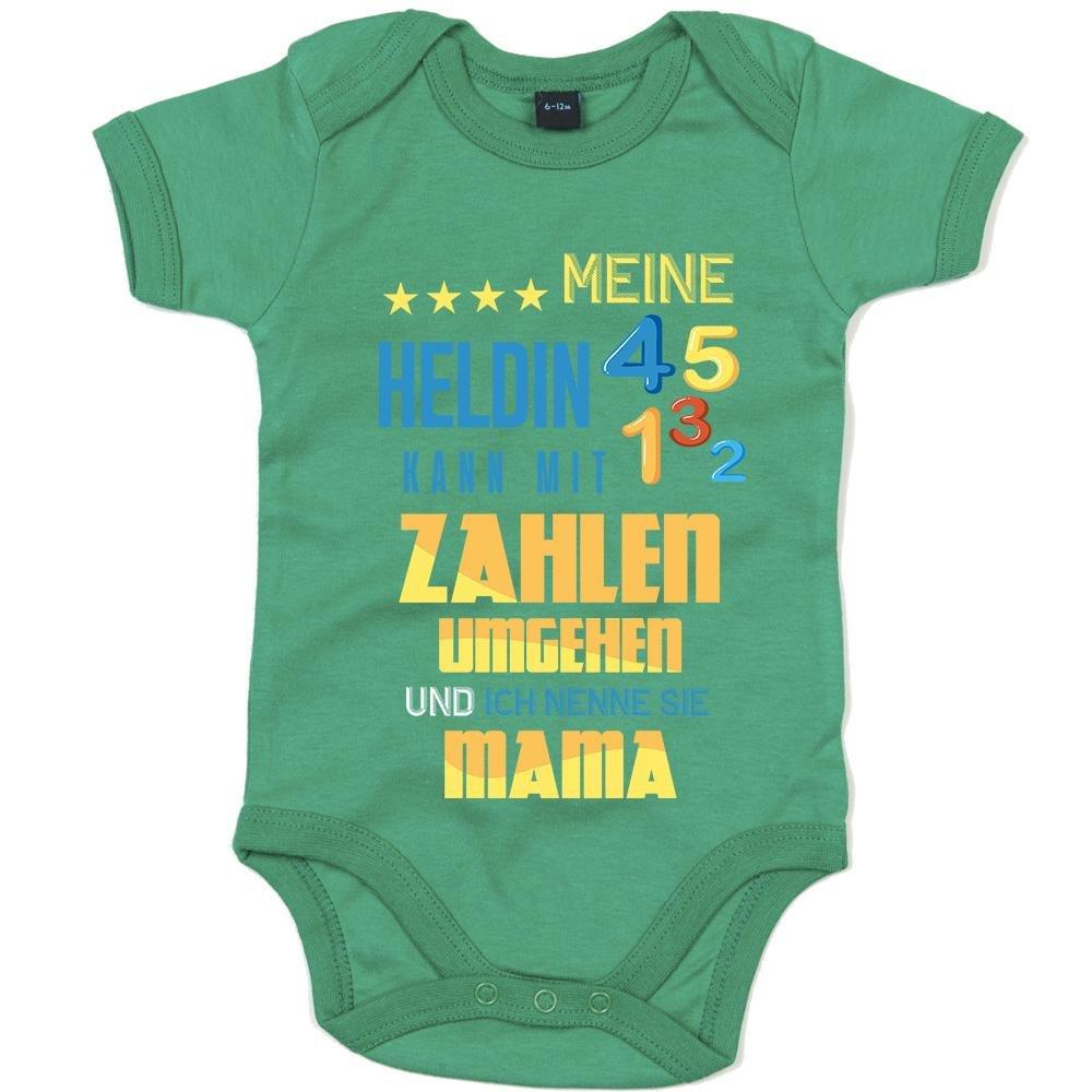 Mathematik Premium Babybody Berufe Follow Your Dreams Traumberuf M/ädchen Kurzarmbody