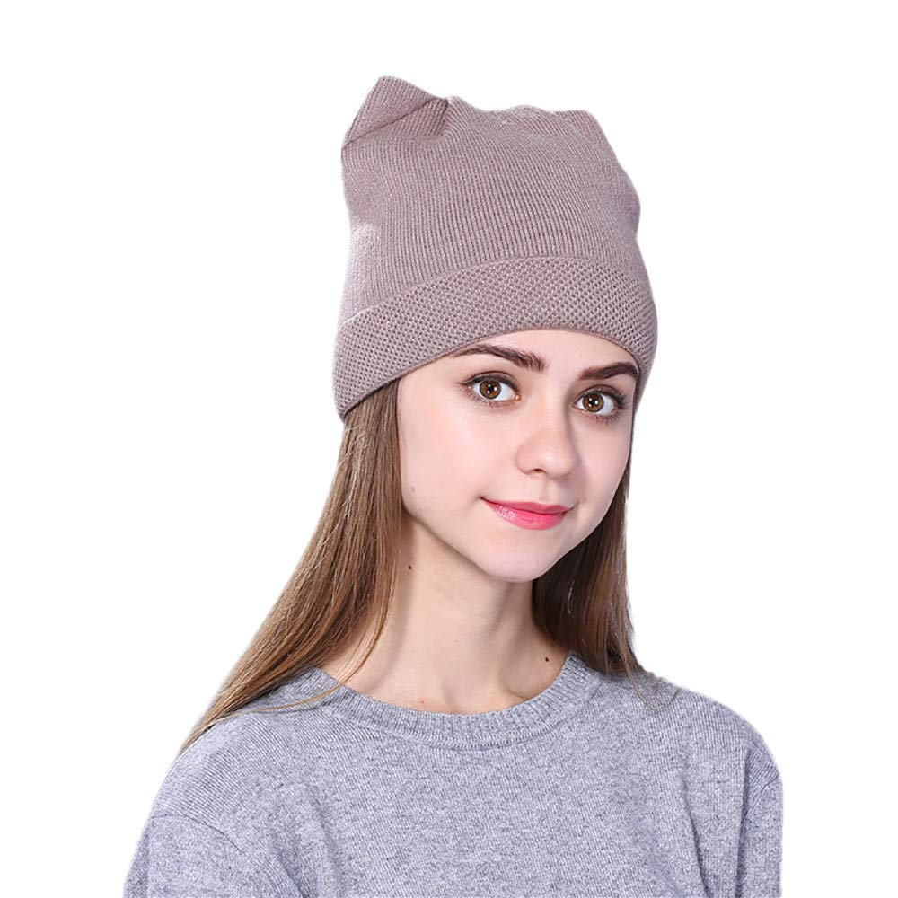 e7e539026b0 Amazon.com  Tpingfe Men Women Baggy Warm Crochet Winter Wool Knit Ski Beanie  Skull Slouchy Caps Hat (D)  Sports   Outdoors