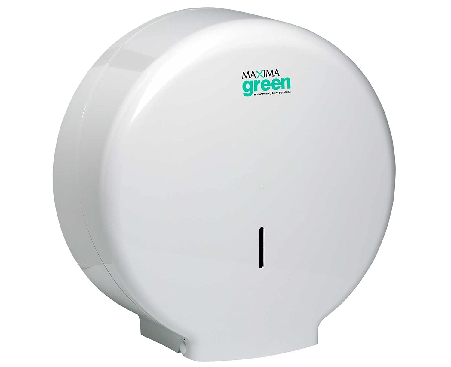 Maxima Green Jumbo Toilet Roll Dispenser Small KMON003