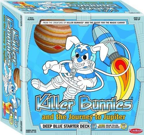 Killer Bunnies Jupiter Blue Starter Card Game]()