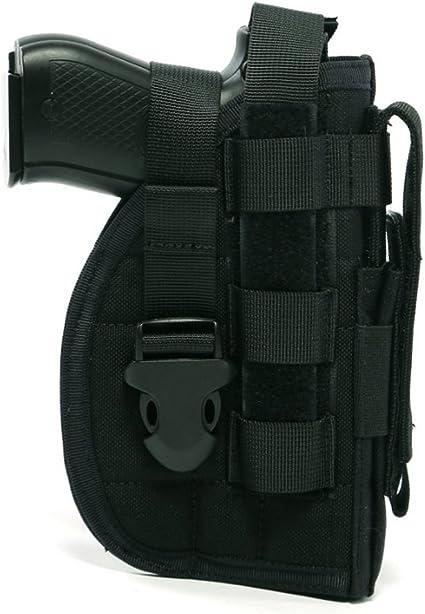 Tactical Military Hook Pistol Gun Handgun Holster Holder Safe Storage Pouch HOT