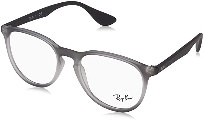 91a47643f1 Amazon.com  Ray-Ban Women s RX7046 Eyeglasses Grey Gradient Rubber ...