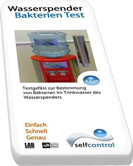 UW 5520 D 02/agua potable de bacterias de prueba para dispensador de agua –