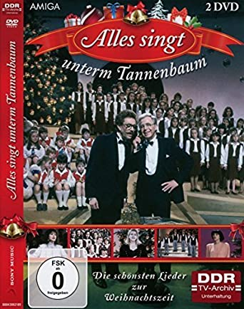 Tannenbaum Singen.Alles Singt Unter Dem Tannenbaum 2 Dvds Amazon De Peter Schreier