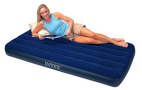 Intex 68757 twin size classic downy aria letto gonfiabile materasso