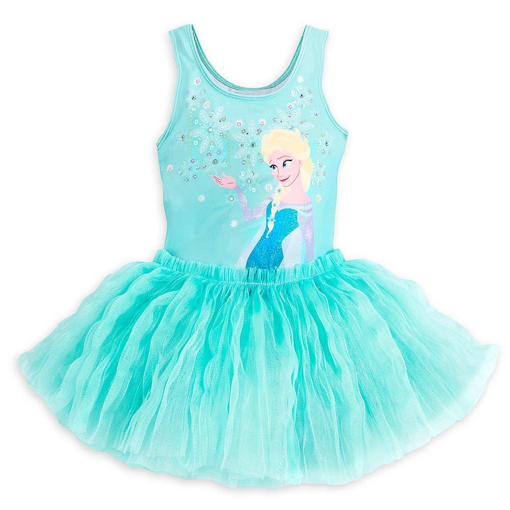 3e6358718 Amazon.com  Disney Frozen Elsa Deluxe Leotard For Girls Size 7 8 ...