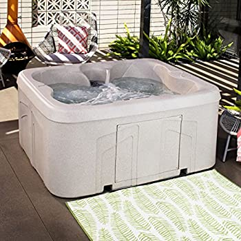 LifeSmart Spas LS100DX 4-Person Plug and Play Hot Tub (Certified Refurbished)