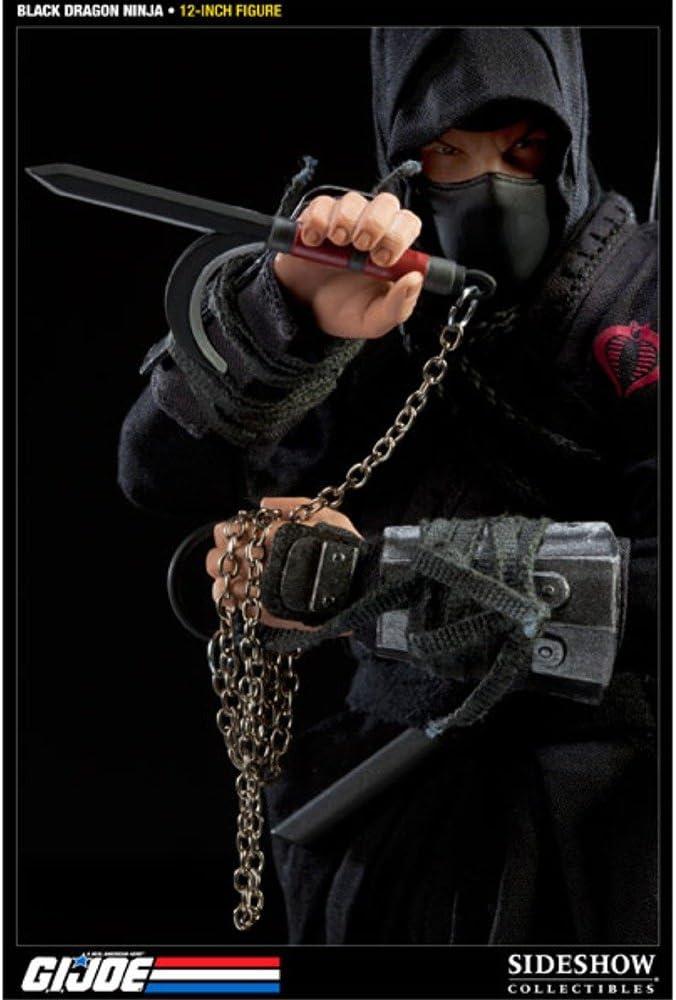 Cobra Black Dragon Ninja Head Sculpt Type 1 1//6 Scale Toy GI JOE