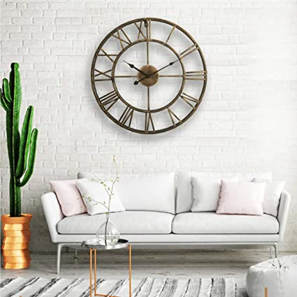 Amazon LightInTheBox 20 H Country Style Metal Wall Clock Home Decor Clocks Kitchen