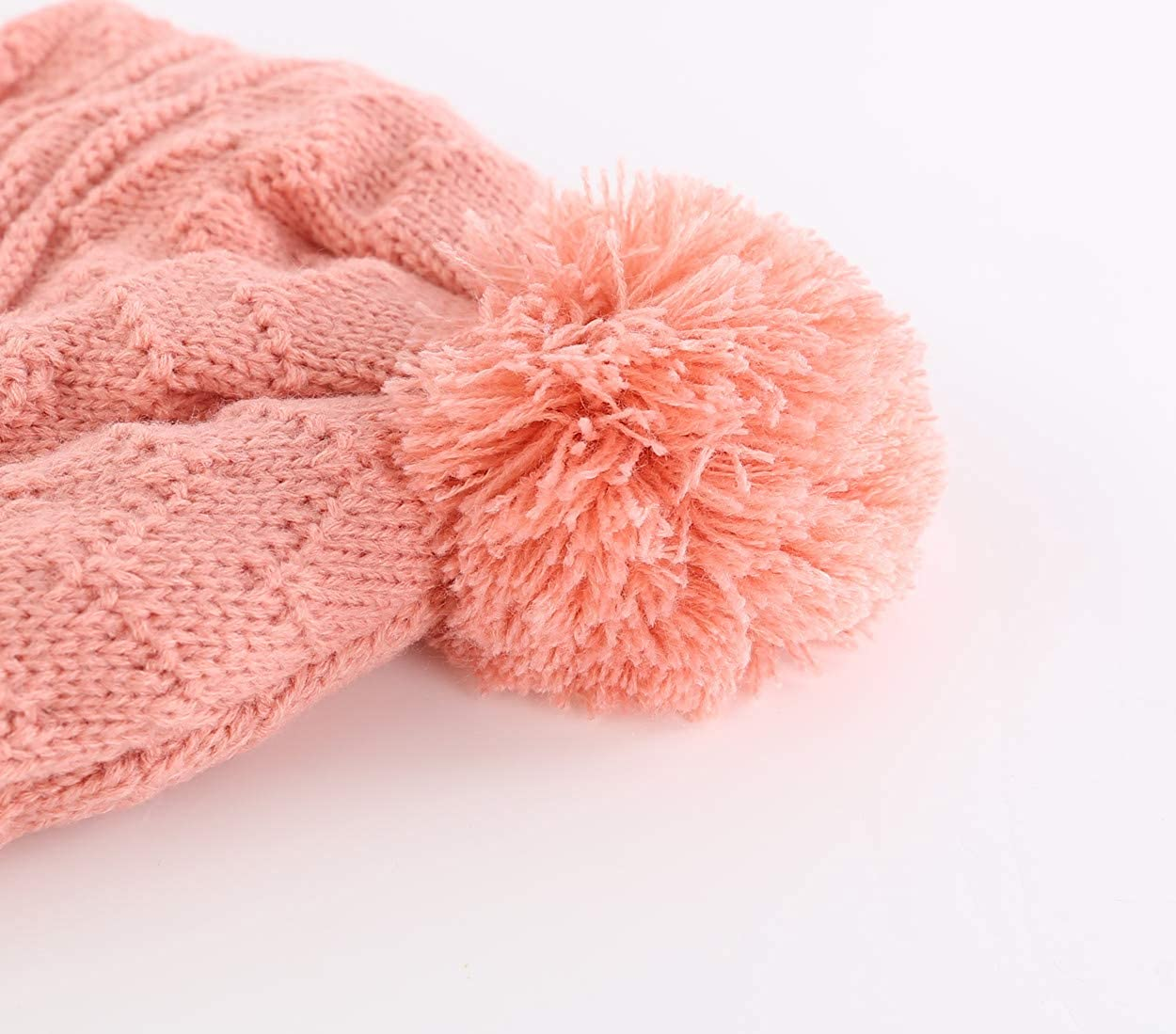 Magracy Baby Toddler Warm Earflap Beanie Kids Boys Girls Winter Fleece Lined Knitted Hat