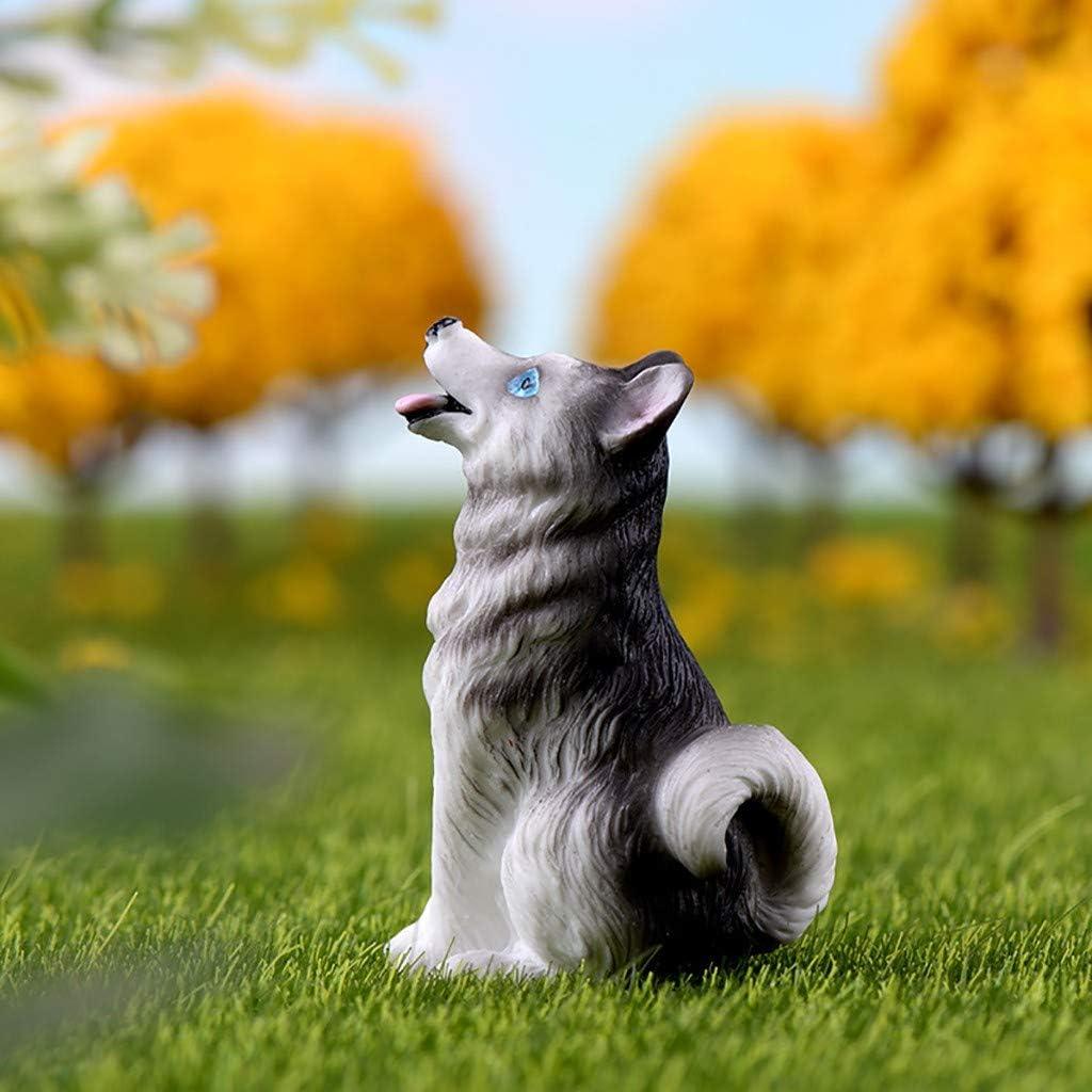 F/ür Zuhause Garten Dekoration 3,3 x 5,6 cm ToDIDAF Puppenhaus Zubeh/ör 4 St/ück Mini Welpe 1:12 Puppenhaus Miniatur Wohnm/öbel Szenenmodell Lernspielzeug f/ür Kinder