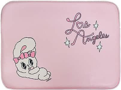 "Esther Bunny Laptop Case Pink Note Book Pouch 13/"" Estherlovesyou Estherbunny"