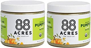 product image for 88 Acres, Organic Pumpkin Seed Butter, Nut-Free, Non-GMO, Dairy-Free, Keto-Friendly, 14 Ounce, 2 Pack