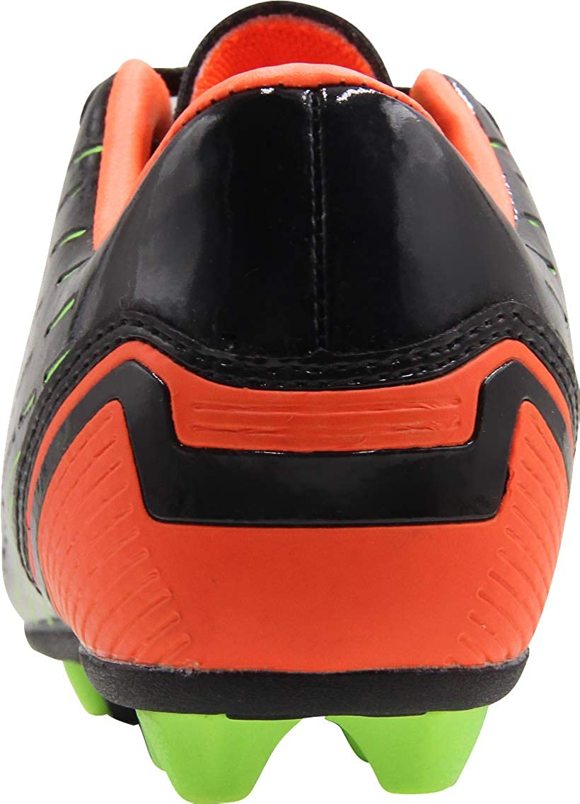 BomKinta Kids FG Soccer Shoes Arch-Support Athletic Outdoor Soccer Cleats