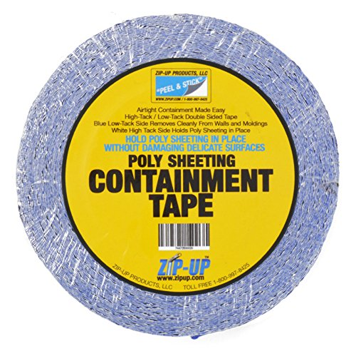 Zip-Up Products Double Sided Poly Sheeting Containment Tape  - 2