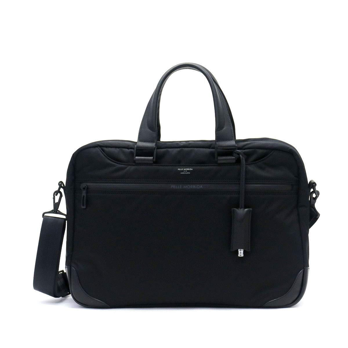 [ペッレモルビダ]PELLE MORBIDA ハイドロフォイル HYDROFOIL 2WAY Brief Bag ビジネスバッグ HYD001  ブラック B07Q33Y8WG