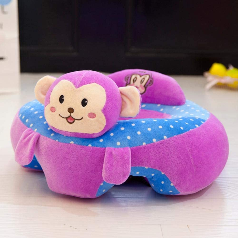 Baby Learning Sitting Seat Infant Baby Learning Sitting Chair Portable Seat Childrens Plush Toy Baby Seats for Sitting Up