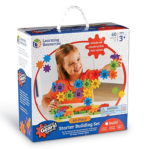 Learning Resources Gears! Gears! Gears! Starter Building Set, 60 Pieces by Learning Resources (Image #7)
