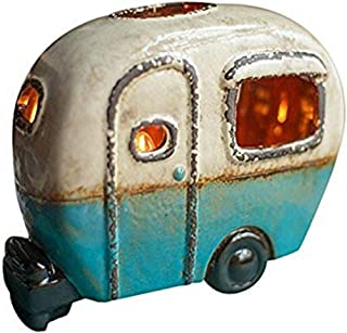 product image for Glenna Jean Happy Camper Ceramic Camper Lamp Candle Bulb