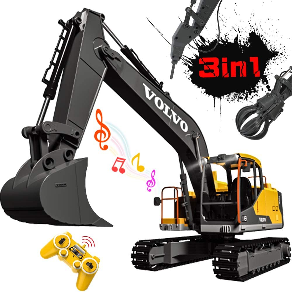 Top 16 Best Remote Control Excavator (2020 Reviews & Buying Guide) 5