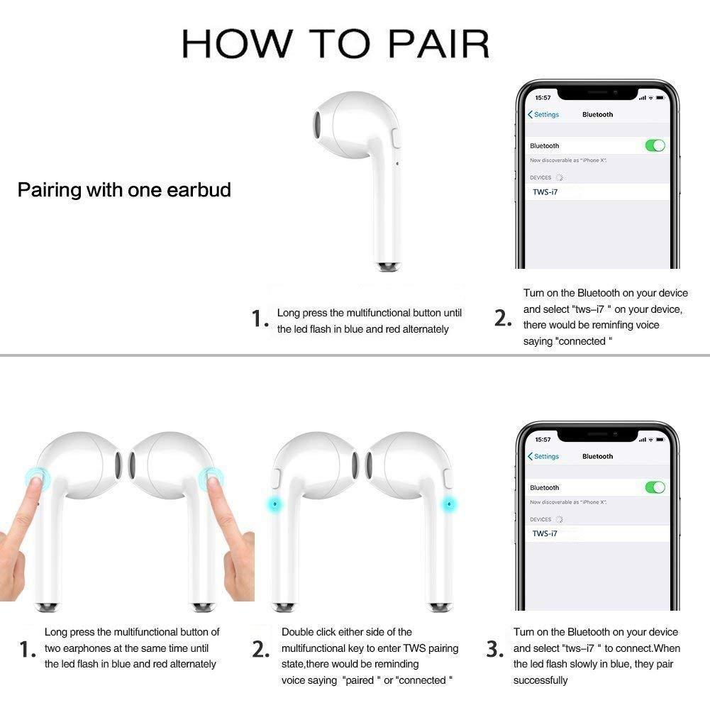 zdvgdxfjfyAuriculares Bluetooth con calidad de sonido estéreo, señal Bluetooth fuerte y estable, auriculares deportivos con función anti-sudor / anti-caída ...