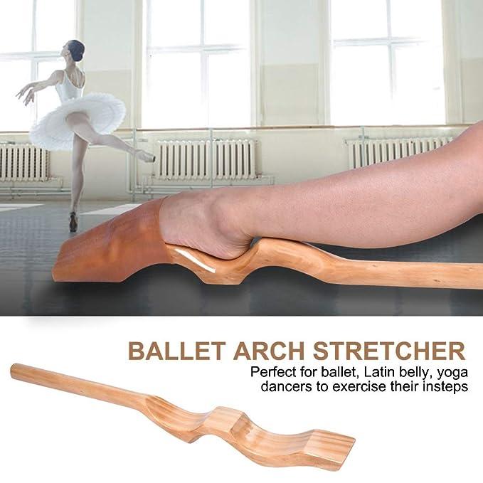 9c9297974 OKBY Camilla de Ballet para pies Bailarina de Ballet de Madera ...
