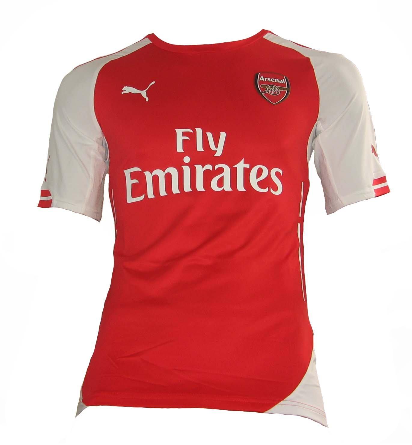Puma Arsenal London Authentic Trikot Home 2014 15 Close Fitting Style