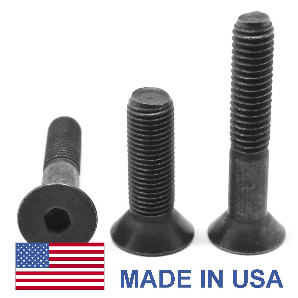 Shoulder Screws Alloy Steel 3//4 X 6 Made in U.S.A. Coarse Thread 10 pcs Hex Socket Drive