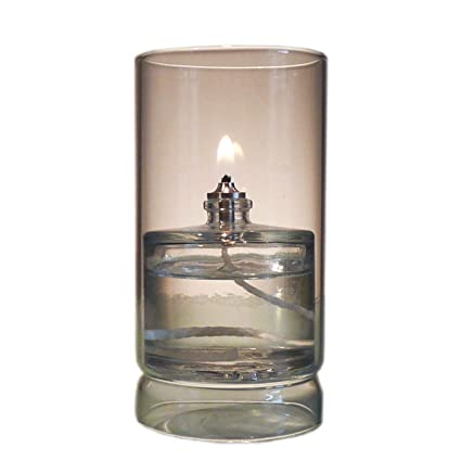 Firefly Ethereal Clear Borosilicate Glass Oil Lamp for Fine Dining &  Restaurants